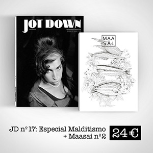 Pack Jotdown + Maasai Magazine